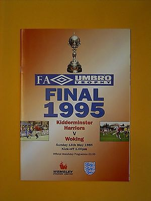 FA Umbro Trophy Final - Kidderminster Harriers v Woking - 24th May 1995