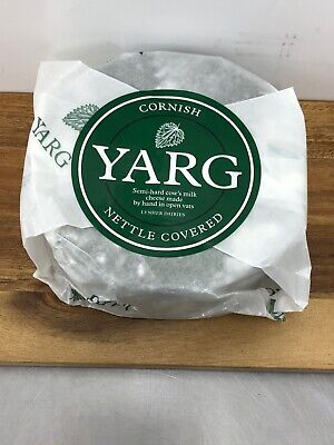 Cheese Cornish Yarg 1 Kg Whole Round ,Nettle Covered Cheese