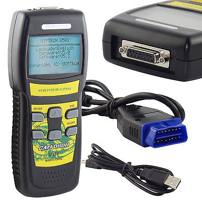 Car Diagnostic Scanner CAN OBD2 EOBD U581 Scan Tool Engine Fault Code Reader UK