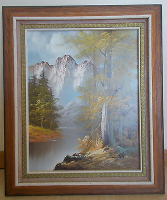 Oil Painting on Canvas-Framed-Signed by the Artist