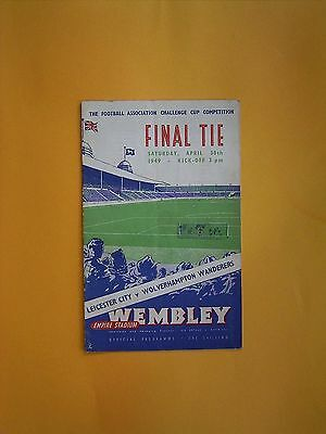 FA Cup Final - Leicester City v Wolverhampton Wanderers - 30th April 1949