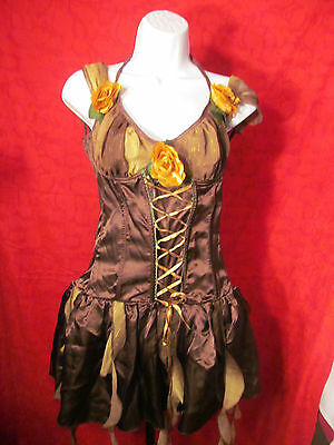 Forest Fairy Halloween Costume Size Large Ladies