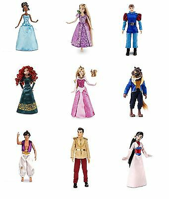 New Disney Store Classic Doll Film Characters Collection Dolls Toys