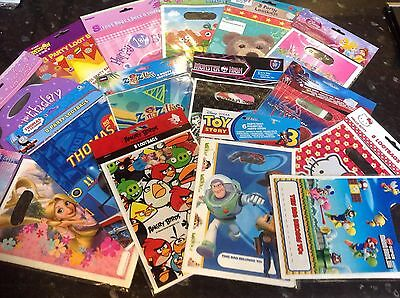 Birthday party loot bags party bags toy story mario hello kitty princess disney