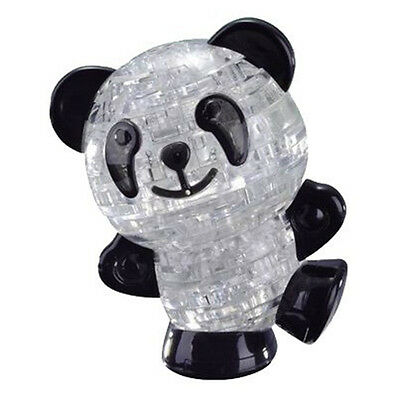 NEW 53pcs Toy Blocks 3d Crystal Puzzle Jigsaw Panda Children's Gift Model BF