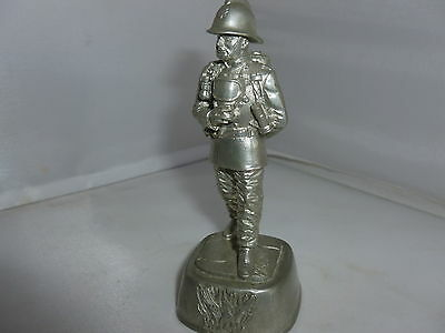 Phoenix Collection Pewter Fireman/firefighter Figure With Ba