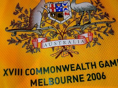 ADIDAS Melbourne Australia Commonwealth Games 2006 WHINCUP 1938 Jersey Shirt PE