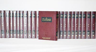 The Zohar Kabbalah 2003 Unabridged English Translation 23 Vol Complete Set New