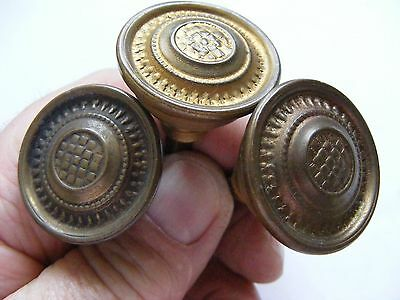 Brass Furniture Knobs X 3