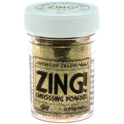 Zing! Glitter Embossing Powder 1oz-Gold