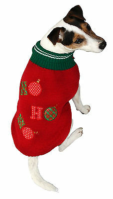 Armitage Good Boy HoHoHo Christmas Jumper Sweater for Dogs &  Puppies