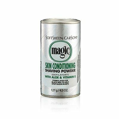 Carson Magic Platinum Skin Conditioning Shaving Powder