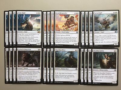MTG White Angel Magic Deck Standard Aegis Angel Serra Aerial Responder D18