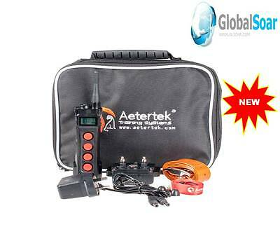 Aetertek AT-919C 1100 Yard 10 Level Dog Training Anti Bark&Waterproof Collar