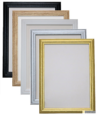 Photo Frame Picture Frame Poster Frame Antique Style Black White Oak Gold Silver