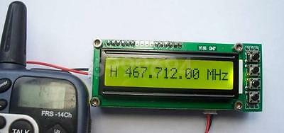 0.1~70MHz 10MHz ~ 1.1 GHz Frequency Counter Tester Measurement For Ham Radio