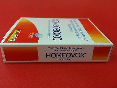 Homeovox Homeopathy for Loss of Voice, Hoarseness, Strained Vocal Cords