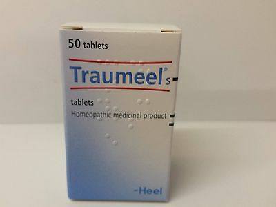 Traumeel S – 50 tablets - Anti-Inflammatory Pain Relief Analgesic - Homeopathic
