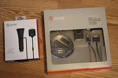 Zune Home A/V pack & Premium car pack