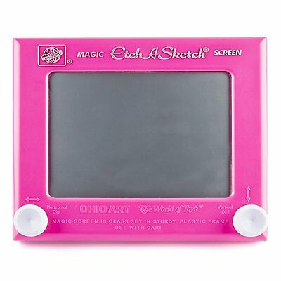 Etch A Sketch Classic Play Drawing Game Great Gift for Children Kids - Pink