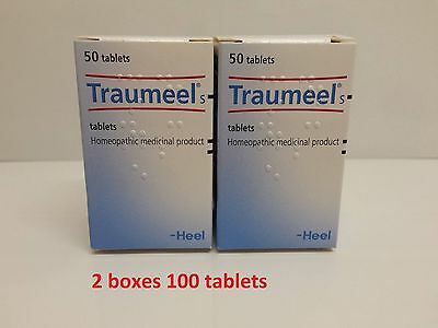 Traumeel S –2X 50 tablets  Anti-Inflammatory Pain Relief Analgesic - Homeopathic