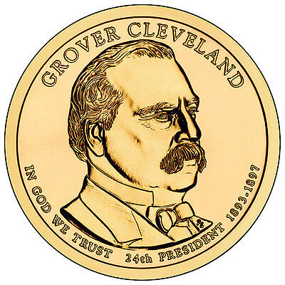 2012 Grover Cleveland 2nd Term  P&D Ready to ship