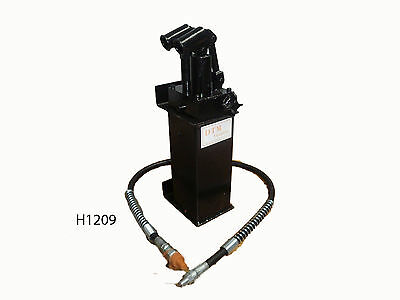 Hydraulic Shop Press 30T High / Low Pump & Hose Assembly @ Dtm Trading (H1209)