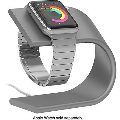 Genuine Nomad Charging Stand for Apple Watch Silver NOMADSTAND-APPLE-S-001