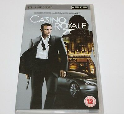 Casino Royale 007 Psp Umd Video Movie Sony Playstation Action Moive