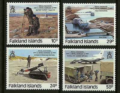 Falkland Islands  1987  Scott #457-460  Mint Never Hinged