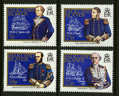 Falkland Islands  1986  Scott #429-432  Mint Never Hinged