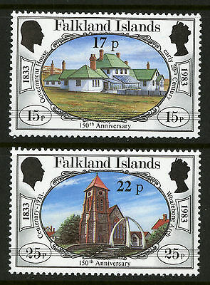Falkland Islands  1984  Scott #402-403  Mint Never Hinged Set