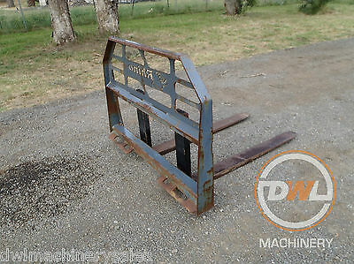 Rhino Skid Steer/bobcat/forklift/fork/attachment/pallet/forks/fork/lift