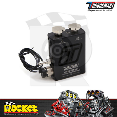 Turbosmart Dual Stage Boost Controller BLACK- TS-0105-1002