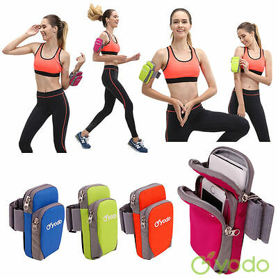 Yodo Sports ArmBand Bag Arm Band Case Running Pouch Jogging for iPhone 7 Plus S7