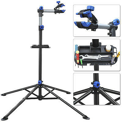 AU Bike Adjustable 1.1 to 1.9M Repair Stand w/ Telescopic Arm Cycle Bicycle Rack