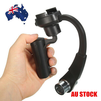 AU Handheld Video Stabilizer Camera Gimbal Hand Grip Alloy For GoPro Hero 4 3+