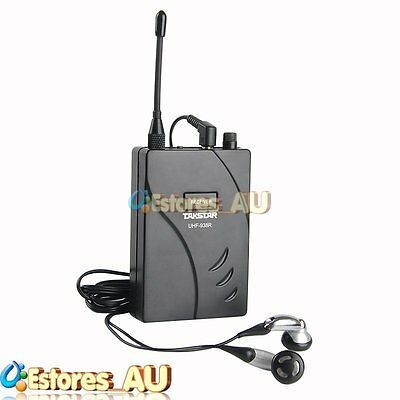 【AU】TAKSTAR UHF-938R Tour Guide Teaching Simultaneous Wireless System Receiver