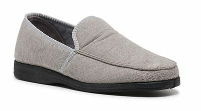 New Mens Grosby Mitchell Comfortable Slippers Moccasins Shoes