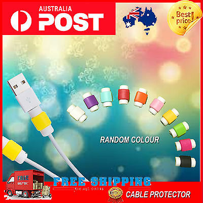 1 5X 10X 20X USB Cable Protector Saver Cover For apple iPhone ipad usb cord head