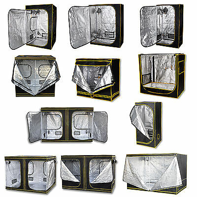 Premium Grow Tent Silver Mylar Indoor Bud Box Hydroponics Dark Room Multi-size