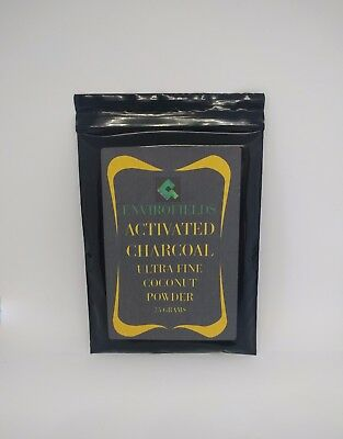 Steam Activated Charcoal Carbon Ultra Fine Powder For Soap Teeth Medicinal 200G