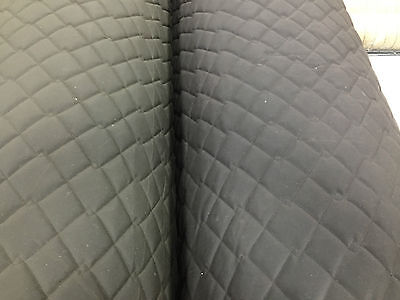 QUILTED FABRIC Marine Waxed Cotton Canvas Waterproof Padding Jackets Equestrian