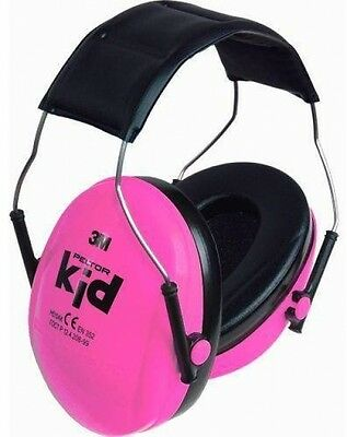 Protection Defender For Children 3M PELTOR Kids Ear Muffs, Pink Sports Concerts