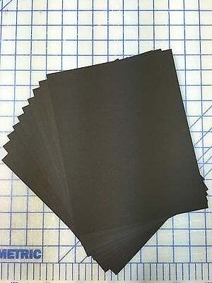 Set Of 20 16x20 Uncut Photo Picture Mats Acid Free 4-ply BLACK with White Core