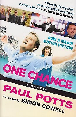 One Chance by Paul Potts BRAND NEW BOOK (Paperback, 2013)