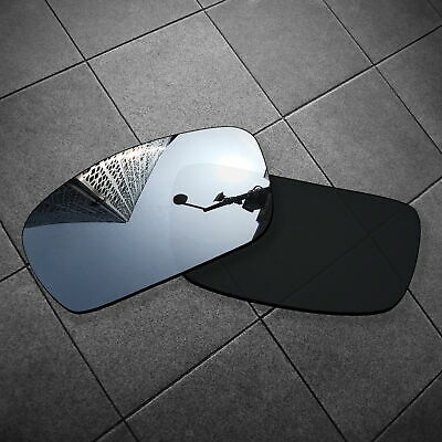 RawD Silver Mirrored Replacement Lenses for-Oakley Crankshaft POLARIZED