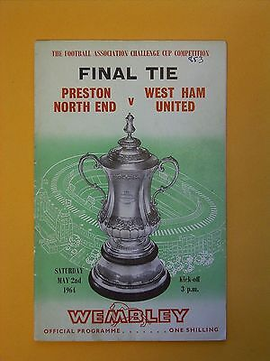 FA Cup Final - Preston North End v West Ham United - 2nd May 1964