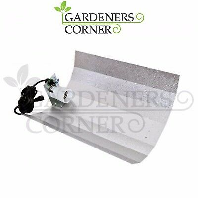 Hydroponics X LARGE 600w HPS Light Adjustable a Shade Wing Reflector Indoor grow
