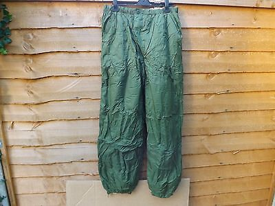 Genuine Issue British Army Softie Thermal Over Trousers ** New **